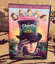 Charlie and the Chocolate Factory Dvd (Widescreen, Former Rental) Johnny Depp