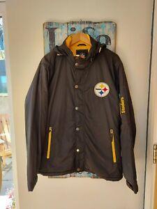 Vintage Retro NFL Steelers Jacket Size XL American