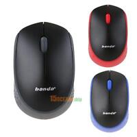 NEW 2.4GHz USB Wireless Optical 1600DPI Gaming Mouse Mice For Laptop Desktop PC