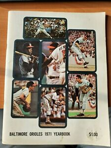 1971 Baltimore Orioles Official Baseball Yearbook