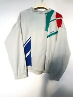 Rare Vintage 80's Adidas Anorak Jacket Mens L - M Made in West Germany 1/4 Zip