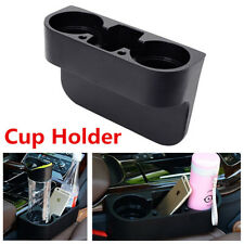 1x Car Cleanse Seat Drink Cup Holder Valet Travel Coffee Bottle Table Stand Food