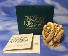 "Rare Retired Harmony Kingdom ""Let's Do Lunch"" Vultures Box Figurine Tjvu Box Evc"