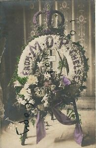 Armistice Day Wreath from the Ministry of Pensions 1923 colourised Kennington