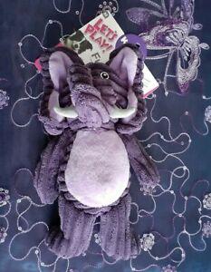 Kazoo Softies Funky Purple Elephant, Dog Toy Medium, FREE POST