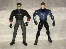 """Pair of 2 Kenner DC Comics Batman Bruce Wayne Action Figures 1995 and 1997 5"""""""