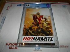 DIE!NAMITE  #4 CGC 9.8 SUYDAM COVER (COMBINED SHIPPING AVAILABLE)