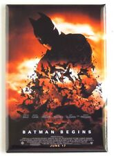 Batman Begins FRIDGE MAGNET (2 x 3 inches) movie poster