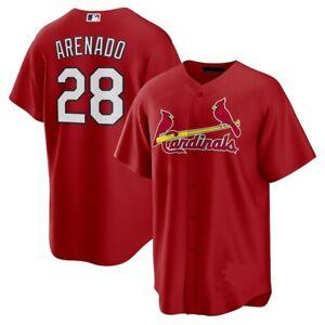 Nolan Arenado St. Louis Cardinals Player Jersey Red XS-4XL