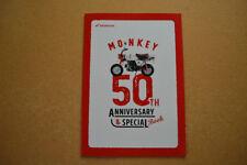 1967 - 2017 Honda Monkey 50th Anniversary & Special Book Z50 Baja Gold Black