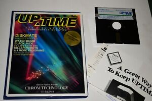 Commodore 64/128 UPTIME The Disk Monthly Magazine Vol. 1 #4 - 5.25 Floppy IBM PC