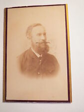 Leutkirch - Paul Stöckle als Mann mit Bart im Anzug - Portrait / CDV