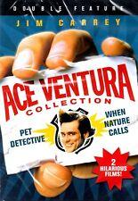 NEW DVD- Ace Ventura: Pet Detective + Ace Ventura - When Nature  Calls - Jim Car