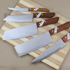 Kiwi Brand Quality Chef Knife Cook Kitchen Cutlery Stainless Steel Wood Handle