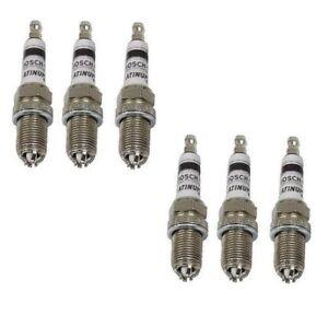 Set of 6 BMW Spark Plugs Bosch Platinum+4 4417 E39 E46 E83 E36 E53
