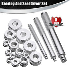 17PC Aluminium  Bearing Race and Seal Driver Master Set 14x Discs ,3X Handle