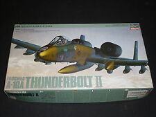 A Hasagawa Un Made plastic kit of a Fairchild A-10A Thunderbolt 2,, Boxed