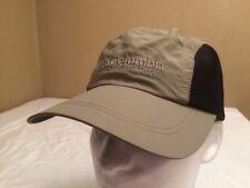 VTG 90S COLUMBIA SPORTSWEAR OLIVE NYLON & MESH 5 PANEL HAT  CAP SIZE 0/S