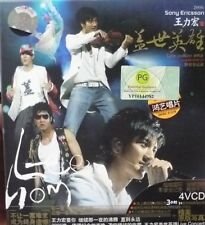 Wang Lee Hom 王力宏 - Live 4VCDs