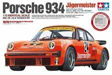 Tamiya 12055 Porsche 934 Jägermeister 1/12 Voiture de Course - Orange
