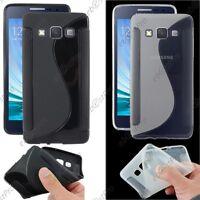 Housse Etui Coque Silicone Motif S-line Gel Souple Samsung Galaxy A5 SM-A500F