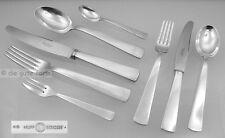 GIO PONTI für BERNDORF -- Besteck 8 teilig Silber 90 -- Entwurf 1932 (mehrere)