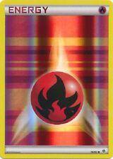 1x Fire Energy - 76/83 - Common - Reverse Holo Pokemon Near Mint Generations