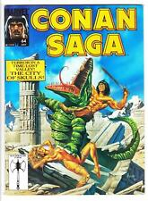 CONAN SAGA #64 (7/92)--VF-/Classic Conan; Vosburg, Alcala, Buscema-a; Jusko-c^