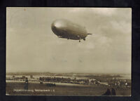 1931 Reichenberg Germany Graf Zeppelin RPPC postcard Cover LZ 127 to USA