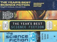 Year's Best SCIENCE FICTION pb lot Orson Scott Card William Gibson Garth Nix