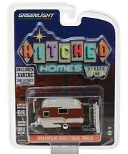 Greenlight 1959 Catolac Deville Travel Trailer Hitched Homes 1:64 34020-B