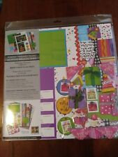 Scrapbook Pages Kit. For 8 Pages Birthday
