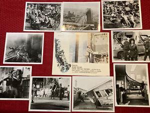 Earthquake Original Movie Press Photo Lobby Card Set 1974 11x14 8x10 Heston