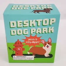 Desktop Dog Park Rp Minis By Riordan Conor Including 5 Tiny Dogs Office Toy