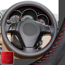 Hand Sew Steering Wheel Cover Stitch on Wrap for 04-09 Mazda 3 M3 06-10 Mazda 5