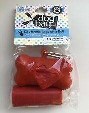 Dog Walking Poop Waste Bags Dispenser with Carabiner Clip -12 Bags Per Roll