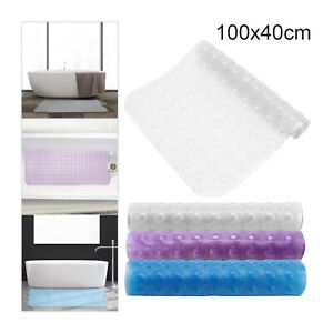 Extra Large Strong Suction Grip Mat Anti-Mold Rubber Non-Slip Shower Bath  Mats