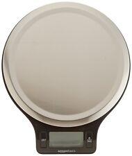 Pesa Digital Alimentos De Cocina Acero Inoxidable Pantalla LCD Ancha Botón Tara