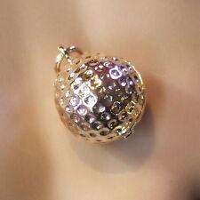 9 CT Oro Nueva pelota de golf encanto