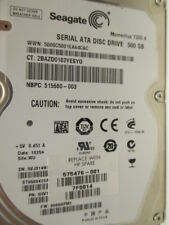 500 gb Seagate st9500420as p/n 9hv144-022 006hpm1 wu Disque dur Thin disc x147