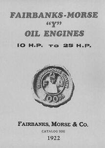 Fairbanks Morse Y Oil Engines