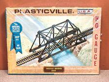 1/87 HO SCALE BACHMANN PLASTICVILLE TRESTLE BRIDGE MODEL KIT # 2810
