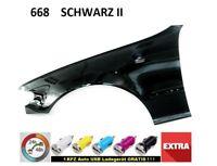 BMW 3 E46 Kotflügel bj. 98-01  668  SCHWARZ II  LINKS  neu lackiert Gut Qualität