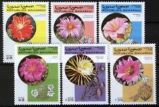 Sahara Occ 1998, Flowers and Cactuses, Flora Set MNH