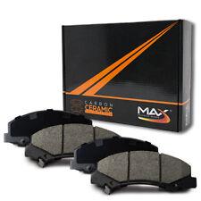 2001 2002 Fit Dodge Caravan w/Rear Drum Max Performance Ceramic Brake Pads F