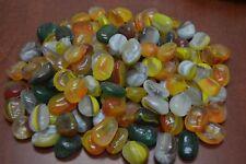 Fish & Aquariums Bright 1 Bags Glass Stone Polished Artificial Durable Colorful Glass Stone For Aquarium