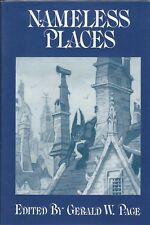Nameless Places edited by Gerald W. Page from Arkham House - New Condition