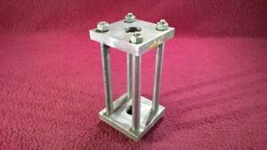 LARGE SCALE WATER LEVEL GAUGE FRAME - STAINLESS STEEL - LIVE STEAM LOCOMOTIVE