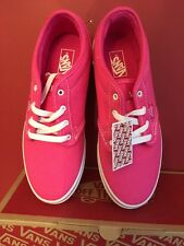 VANS ATWOOD Women's Girls Trainers Sneakers Size Uk 3.5 BRAND New WITH BOX!!