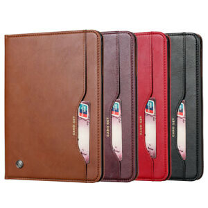 PU Leather Flip Stand Case Cover for iPad Air 3 Mini 5 Pro 12.9 11 10.5 9.7 10.2